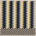 Carl Krasberg: N 2 - 5 gleiche Quanten, Ölfarben auf kunststoffbeschichteter Platte, 61 x 61 cm, 1984