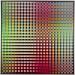 Carl Krasberg: P 79 - Von Rot zu Grün zu Grau, Ölfarben auf kunststoffbeschichteter Platte, 121 x 121 cm, 2009