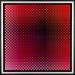 Carl Krasberg: P 44 - o.T., Ölfarben auf kunststoffbeschichteter Platte, 63,5 x 63,5 (80 x 80 cm), 2002